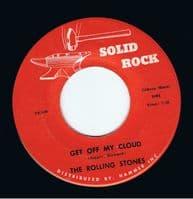 THE ROLLING STONES Brown Sugar Vinyl Record 7 Inch US Solid Rock 1973